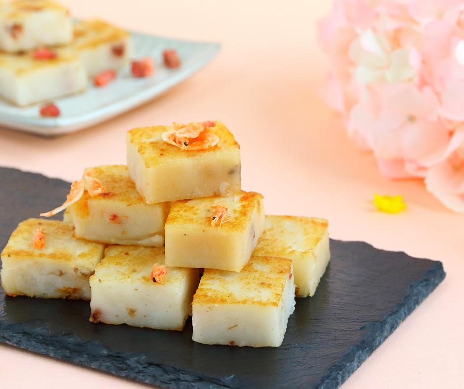 花開蘿蔔糕-單糕